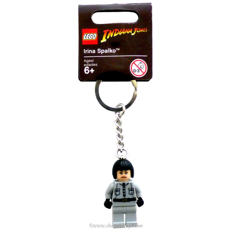 Lego Indiana Jones Sets 852717 Irina Spalko Key Chain New