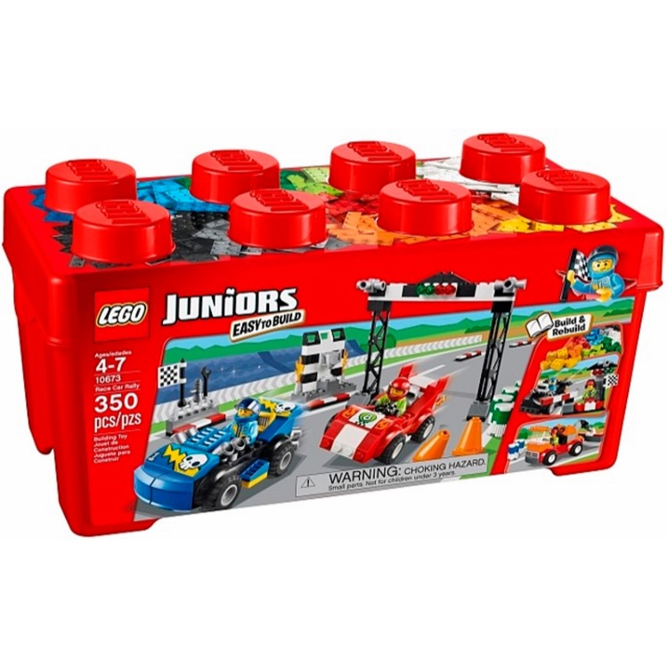 LEGO Juniors Sets: 10673 Race Car Rally NEW