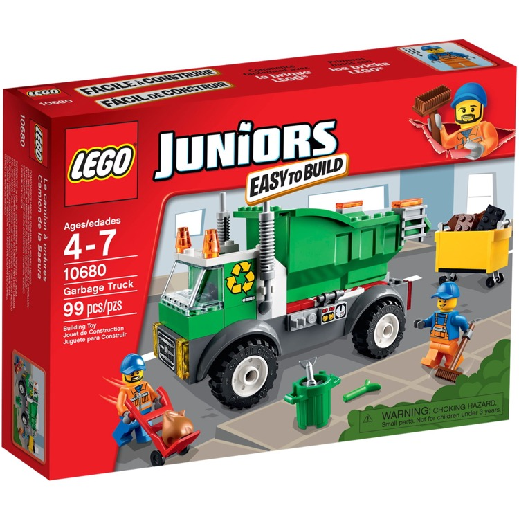 LEGO Juniors Sets: 10680 Garbage Truck NEW