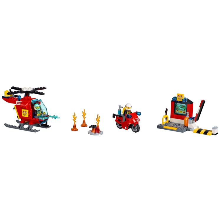 LEGO Juniors Sets: 10685 Fire Suitcase NEW
