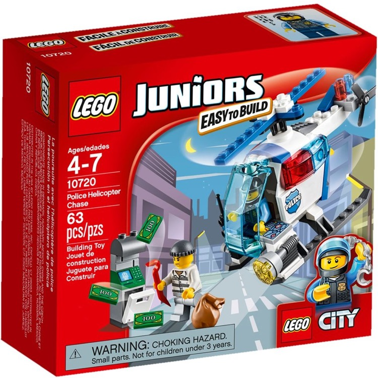 LEGO Juniors Sets: 10720 Police Helicopter Chase NEW  *Damaged Box*
