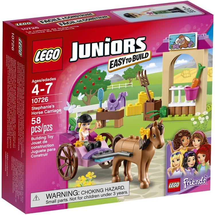 LEGO Juniors Sets: 10726 Stephanie's Horse Carriage NEW