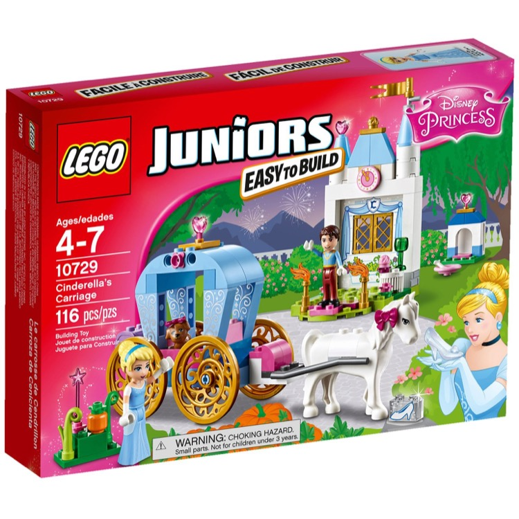 LEGO Juniors Sets: 10729 Cinderella's Carriage NEW *Damaged Box*