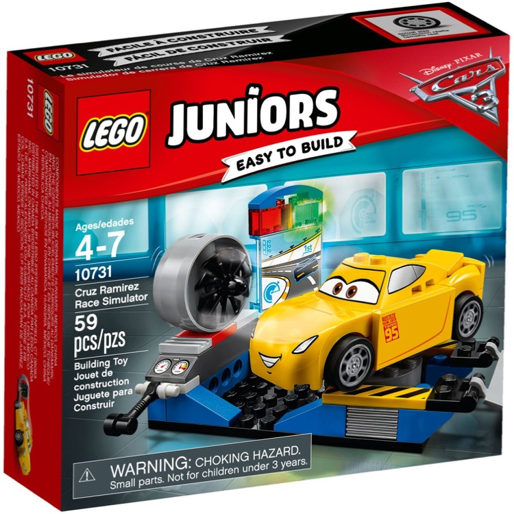 LEGO Juniors Sets: 10731 Cruz Ramirez Race Simulator NEW