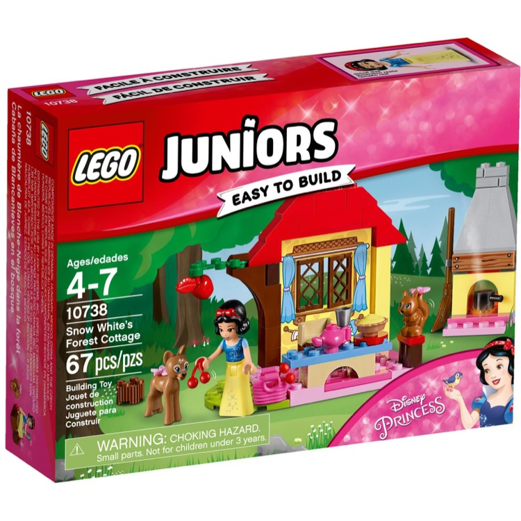 LEGO Juniors Sets: 10738 Snow White's Forest Cottage NEW