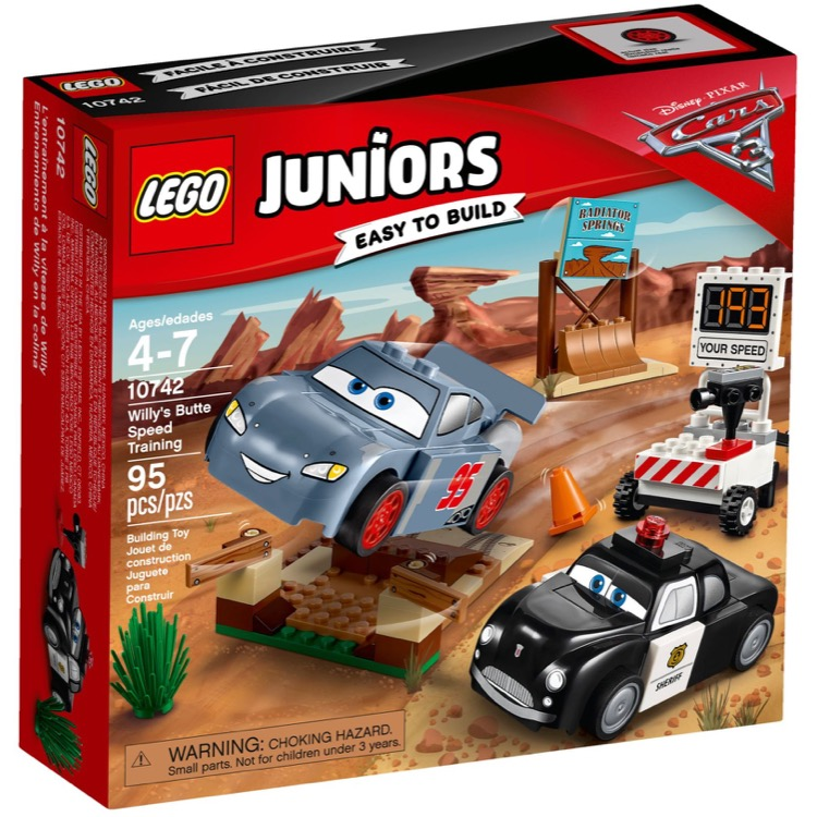 LEGO Juniors Sets: 10742 Willy's Butte Speed Training NEW