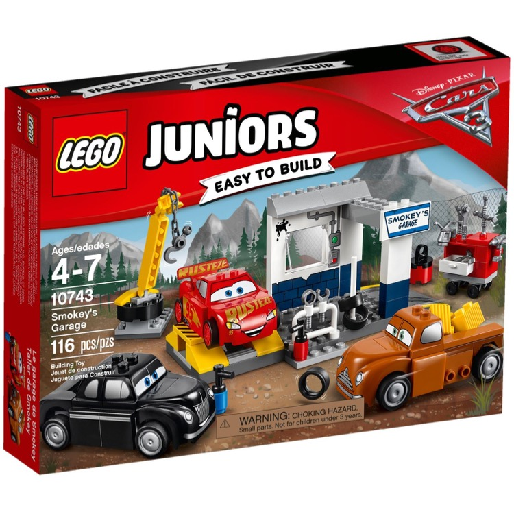 LEGO Juniors Sets: 10743 Smokey's Garage NEW