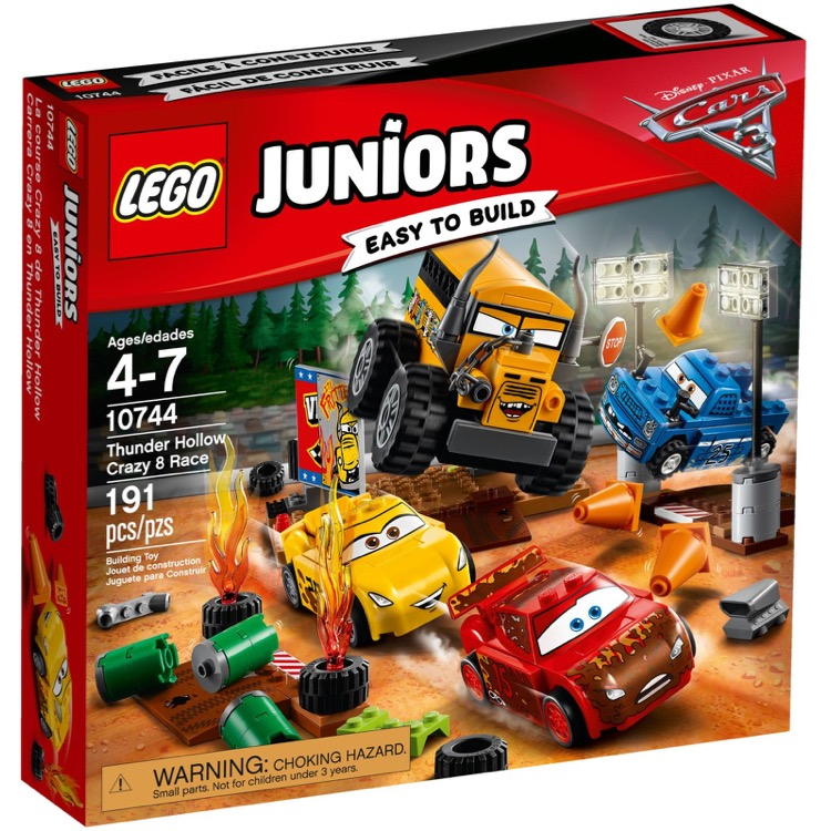 LEGO Juniors Sets: 10744 Thunder Hollow Crazy 8 Race NEW