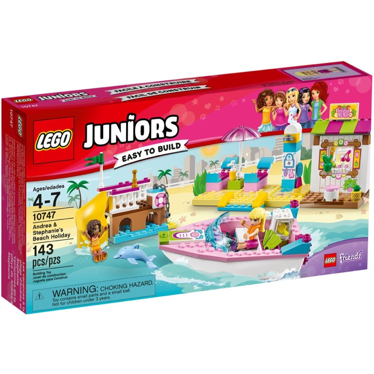 LEGO Juniors Sets: 10747 Andrea and Stephanie's Beach Holiday NEW