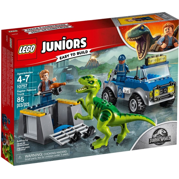 LEGO Juniors Sets: 10757 Raptor Rescue Truck NEW