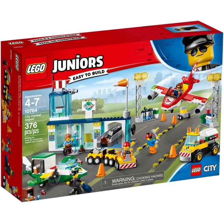 LEGO Juniors Sets: 10764 City Central Airport NEW