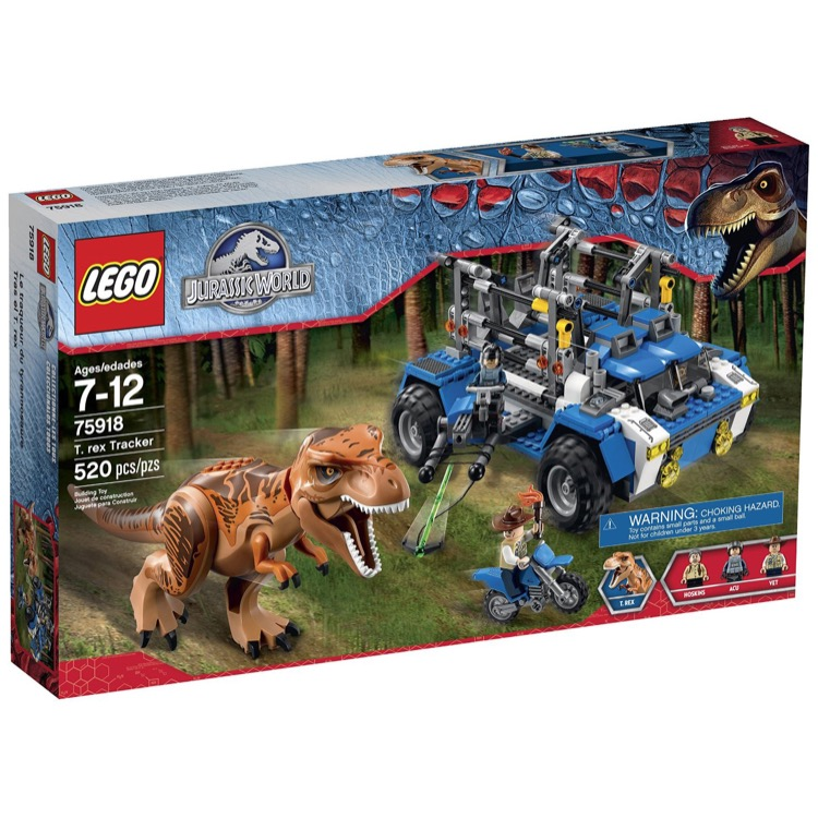 LEGO Jursassic World Sets: 75918 T. Rex Tracker NEW