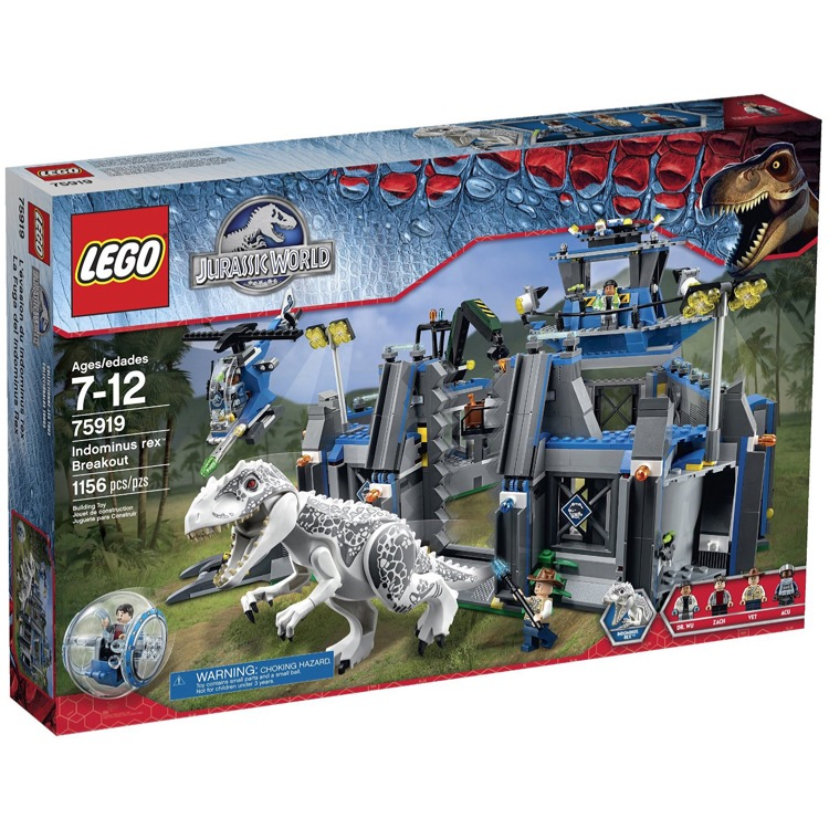 LEGO Jursassic World Sets: 75919 Indominus Rex Breakout NEW *Damaged Box*