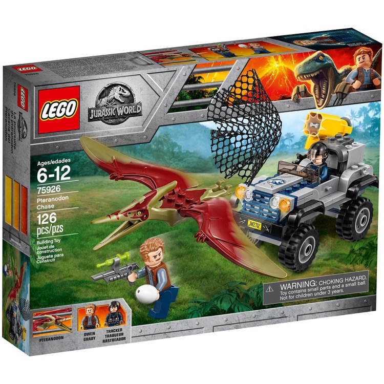 LEGO Jurassic World Sets: 75926 Pteranodon Chase NEW