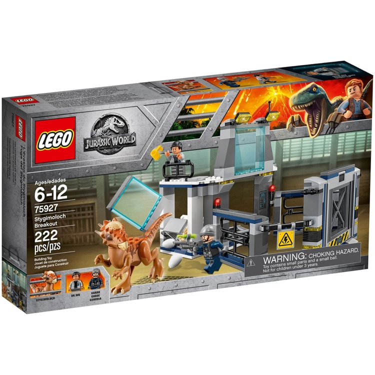LEGO Jurassic World Sets: 75927 Stygimoloch Breakout NEW