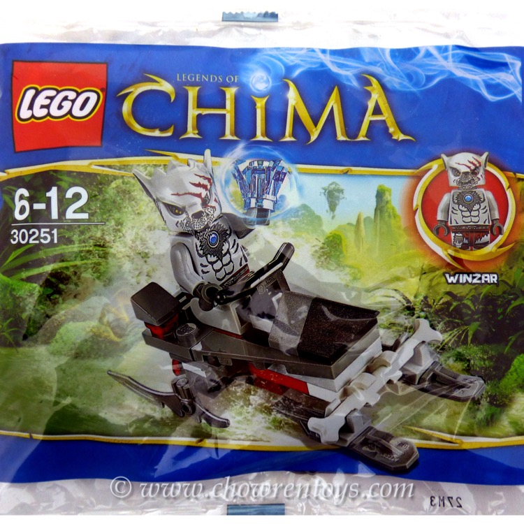 LEGO Legends of Chima Sets: 30251 Winzar's Pack Patrol NEW