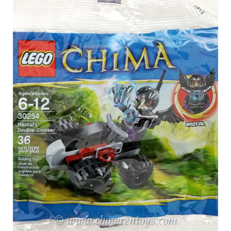 LEGO Legends of Chima Sets: 30254 Razcal's Double-Crosser NEW