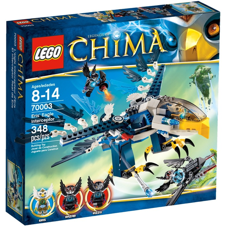 LEGO Legends of Chima Sets: 70003 Eris' Eagle Interceptor NEW