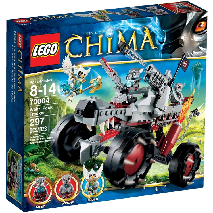 LEGO Legends of Chima Sets: 70004 Wakz' Pack Tracker NEW