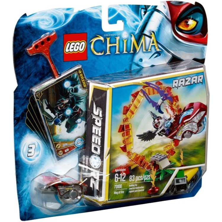 LEGO Legends of Chima Sets: 70100 Ring of Fire NEW