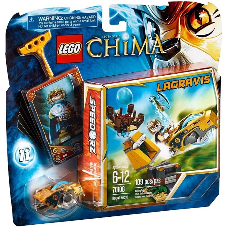LEGO Legends of Chima Sets: 70108 Royal Roost NEW
