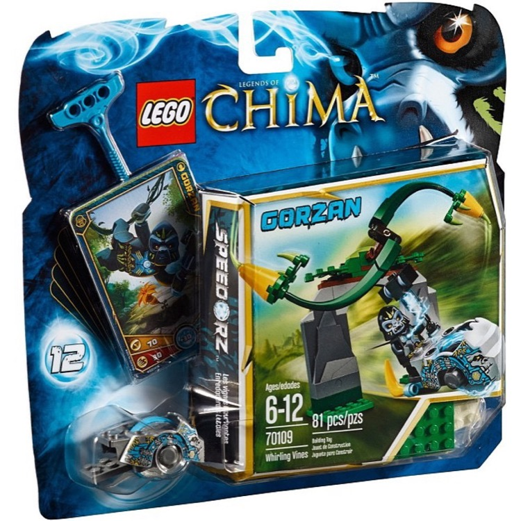 LEGO Legends of Chima Sets: 70109 Whirling Vines NEW