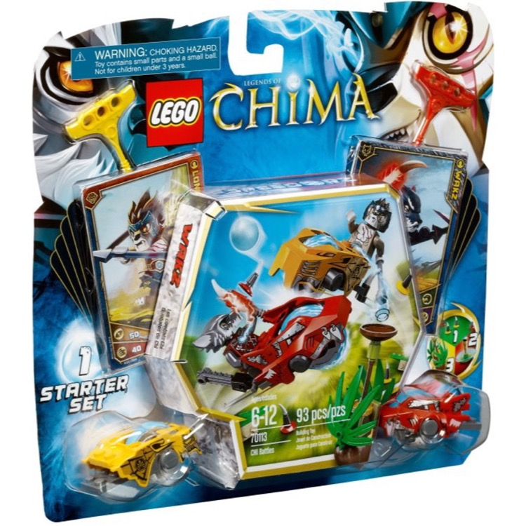 LEGO Legends of Chima Sets: 70113 CHI Battles NEW