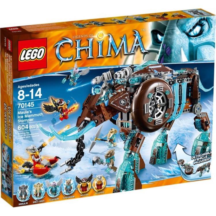 c42a469d7502 LEGO Legends of Chima Sets  70145 Maula s Ice Mammoth Stomper NEW