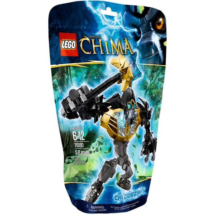 LEGO Legends of Chima Sets: 70202 CHI Gorzan NEW