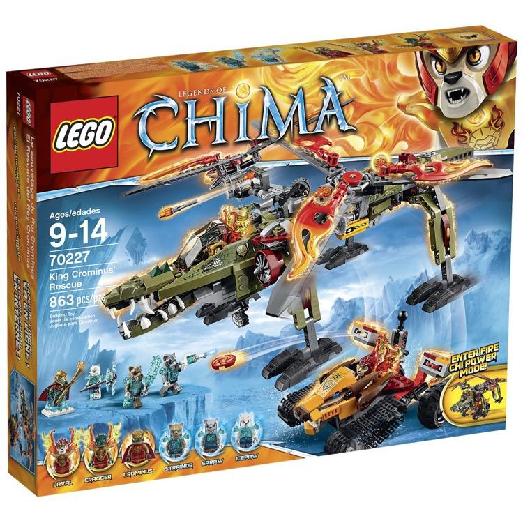 lego legends of chima sets 70227 king crominus 39 rescue new. Black Bedroom Furniture Sets. Home Design Ideas