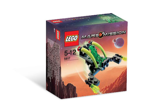 LEGO Mars Mission Sets: 5617 Alien Jet NEW