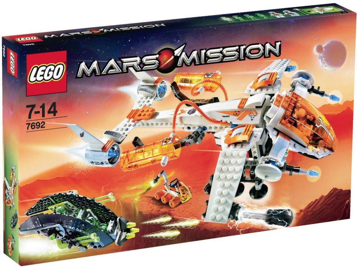 LEGO Mars Mission Sets: 7692 MX-71 Recon Dropship NEW