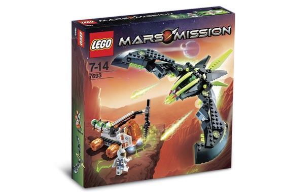 LEGO Mars Mission Sets: 7693 ETX Alien Strike NEW