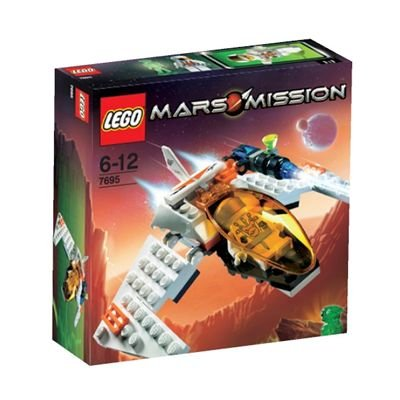LEGO Mars Mission Sets: 7695 MX-11 Astro Fighter NEW