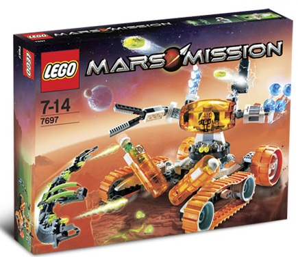 LEGO Mars Mission Sets: 7697 MT-51 Claw-Tank Ambush NEW *Rough Shape*