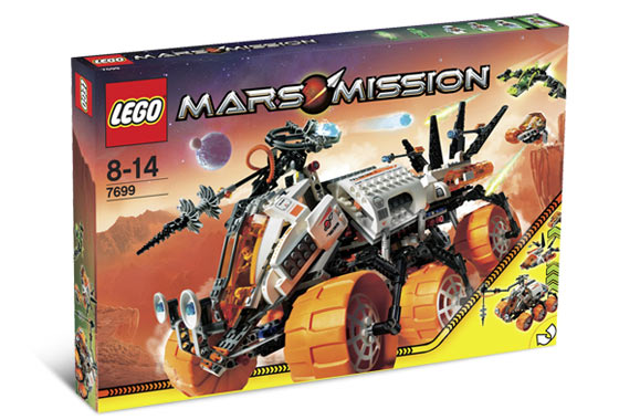 Lego Curiosity Rover Instructions