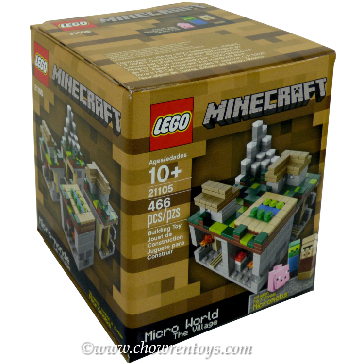 LEGO Minecraft Sets: 21105 Minecraft Micro World: The Village NEW
