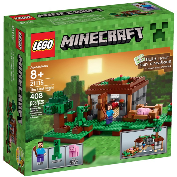 LEGO Minecraft Sets: 21115 The First Night NEW