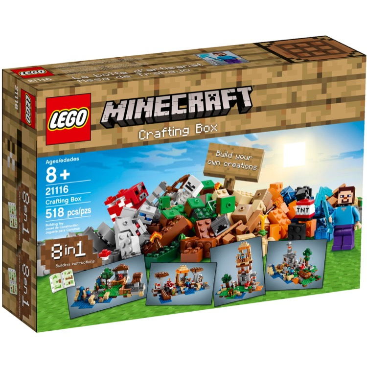 LEGO Minecraft Sets: 21116 Crafting Box NEW