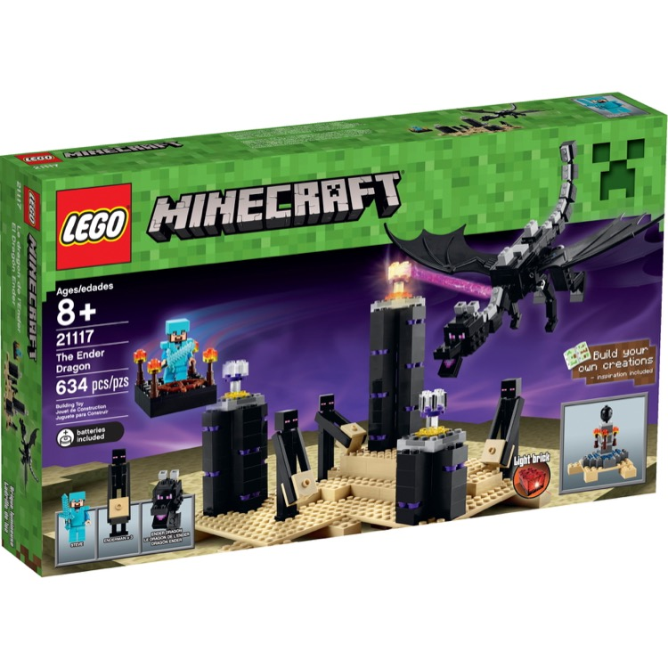 LEGO Minecraft Sets: 21117 The Ender Dragon NEW