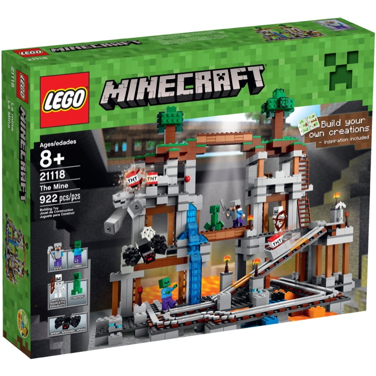 LEGO Minecraft Sets: 21118 The Mine NEW