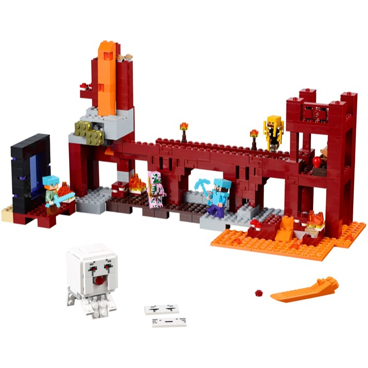 Lego Minecraft Sets 21122 The Nether Fortress New