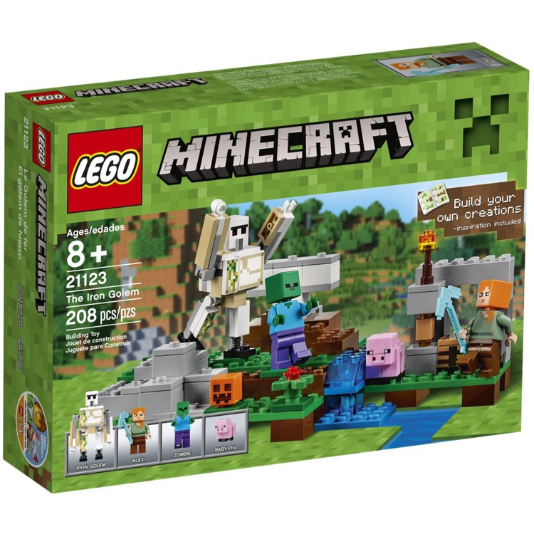 LEGO Minecraft Sets: 21123 The Iron Golem NEW