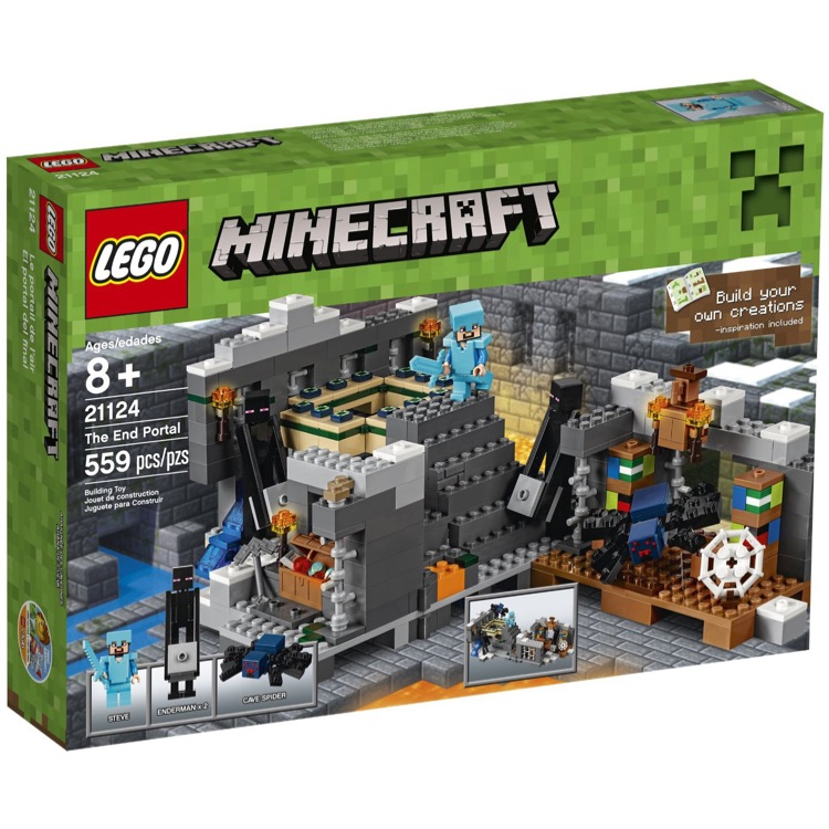 LEGO Minecraft Sets: 21124 The End Portal NEW