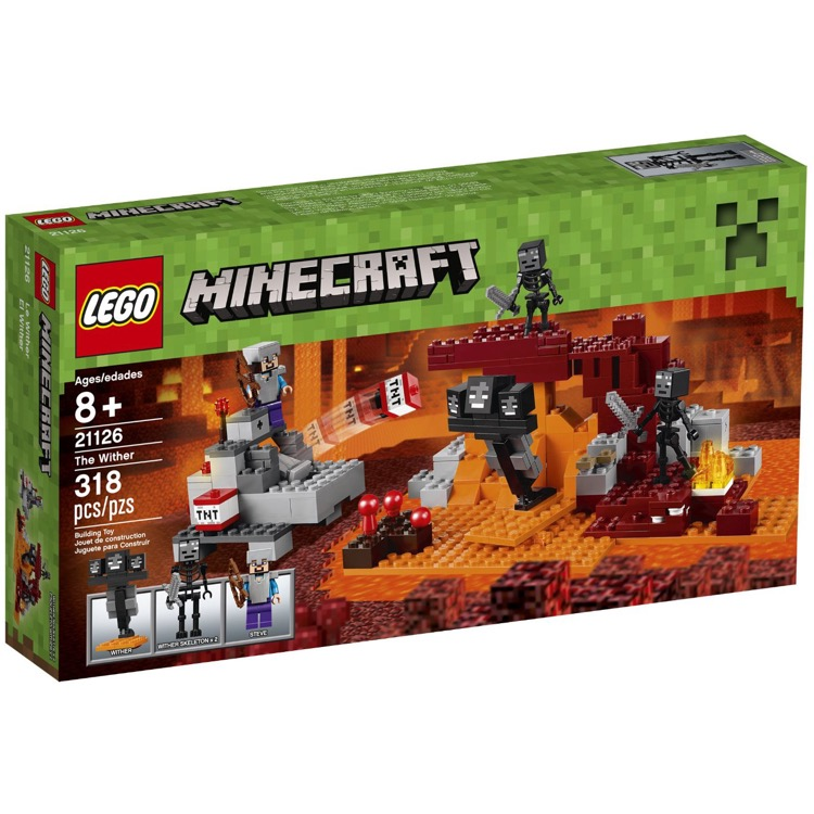 LEGO Minecraft Sets: 21126 The Wither NEW