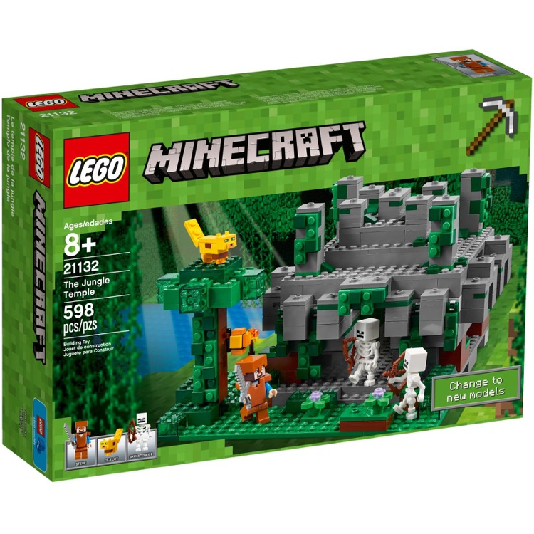LEGO Minecraft Sets: 21132 Jungle Temple NEW