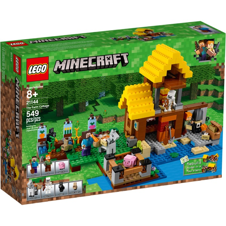 LEGO Minecraft Sets: 21144 The Farm Cottage  NEW
