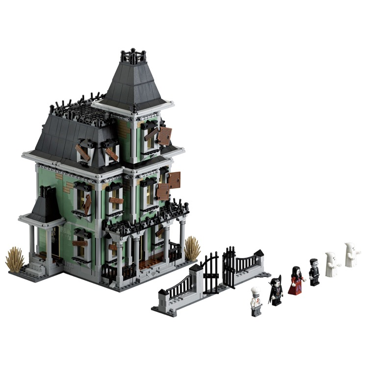 lego monster fighters sets 10228 haunted house new - Lego Monstre