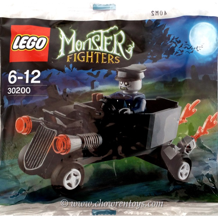 LEGO Monster Fighters Sets: 30200 Zombie Chauffeur Coffin Car NEW