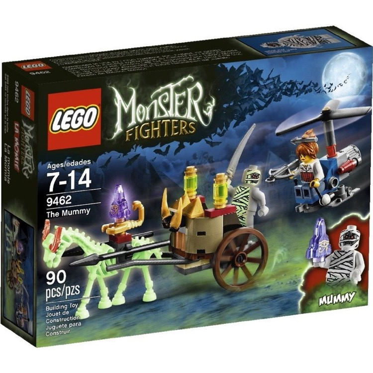 LEGO Monster Fighters Sets: 9462 The Mummy NEW *Glow In The Dark Version*